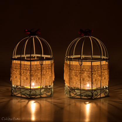 Rustic baby shower decorations, Sky Blue Bird Cages, Baptism Confirmation, Tealight Candle Holder, Newborn baby gift, Baby shower gift
