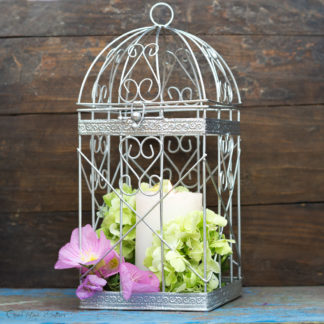 Birdcage Card Holder, Silver Money Box, Wedding Birdcage, Card Holder, Wish Box, Money Box, Card Box, Wedding Decor, Wedding Gift Box